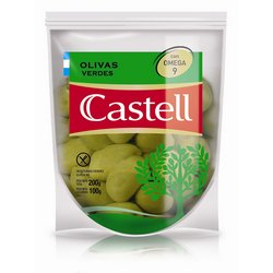 CASTELL aceituna verde  x100g doypack