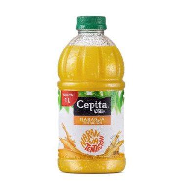 CEPITA jugo naranja botella x1lt