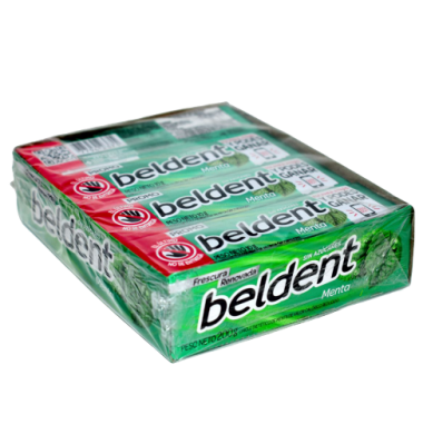 BELDENT chicle menta x20u