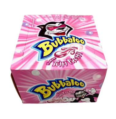 BUBBALOO chicle tuti fruti x60u
