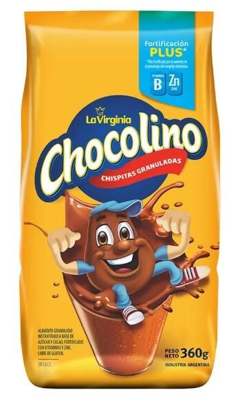 chocolino cacao plus 360 gr