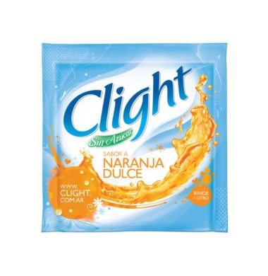 CLIGHT jugo naranja dulce x20sob.