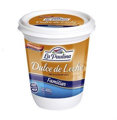 PAULINA dulce leche x400g.