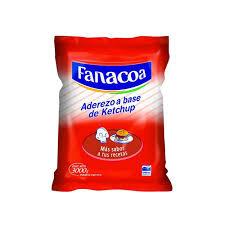 FANACOA ketchup bolsa x3kg.