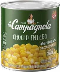 CAMPAGNOLA choclo grano amarillo x300g