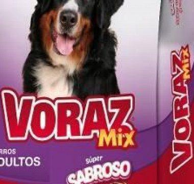 VORAZ alimento perro adulto mix x2.7kg.