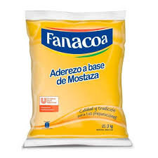 FANACOA mostaza bolsa x3kg.