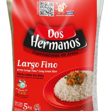 DOS HERMANOS arroz largo fino x5kg