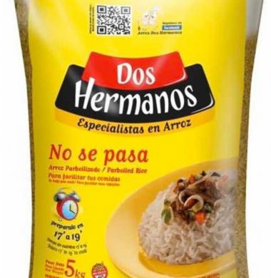 DOS HERMANOS arroz parboil 00000 x5kg.