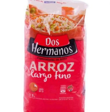 DOS HERMANOS arroz largo fino 00000 x1kg.