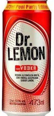 DR.LEMON vodka lata x473cc