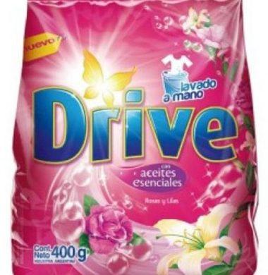 DRIVE jabon en polvo regular rosa/lila x400g
