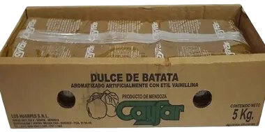 CAYFAR dulce batata cajon x5kg.