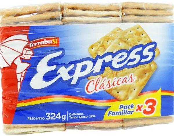 express galletitas tripack