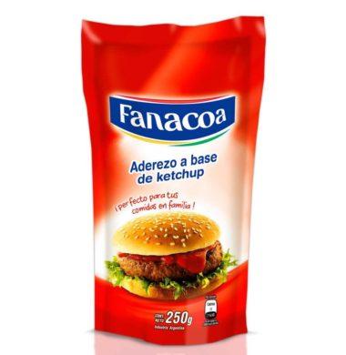 FANACOA ketchup doypack x250g.