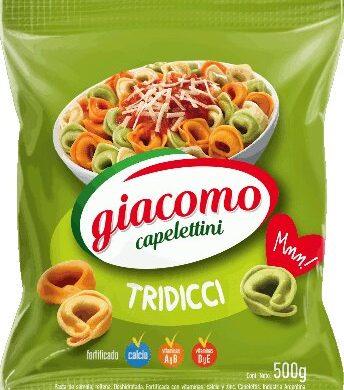 GIACOMO capeletini tridicci x500g.