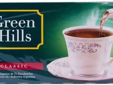 GREEN HILLS te x25 saquitos