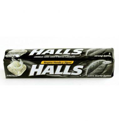 HALLS pastilla lyptus strong x12u.