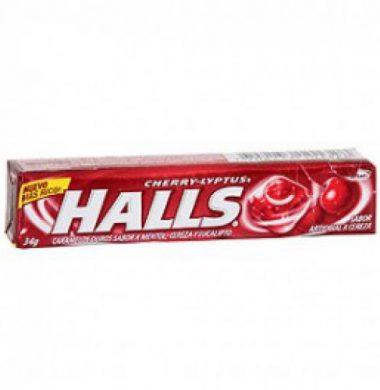 HALLS pastilla lyptus cherry x12u.