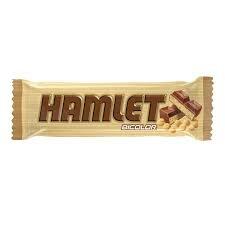 HAMLET choc. bicolor x45g