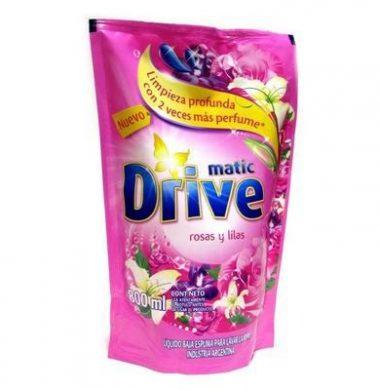 DRIVE jabon liquido rosas/lilas x800cc doypack