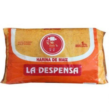 LA DESPENSA harina de maiz x1kg.