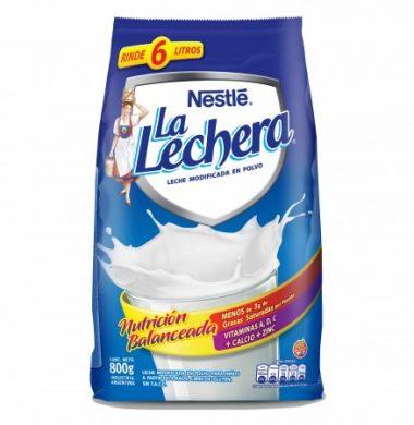 L/LECHERA leche en polvo x800g