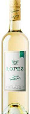 LOPEZ vino blanco dulce natural x750cc.