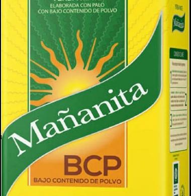MANANITA yerba bcp bajo contenido polvo  x500g