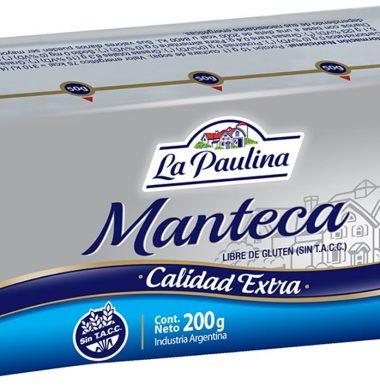 PAULINA manteca x200g.