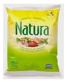 NATURA mayonesa porcion x8g