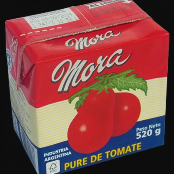 mora pure tomate 520g