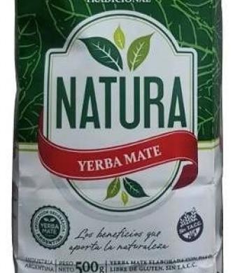 NATURA yerba s/tacc x500g
