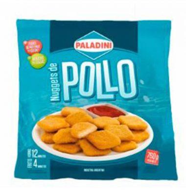 PALADINI nuggets pollo x760g