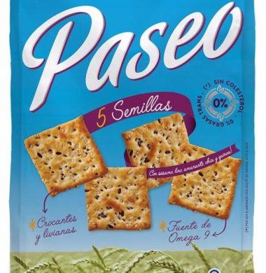 PASEO galletita 5 semillas x300Gra