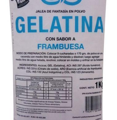 ORLOC gelatina de frambuesa x1kg