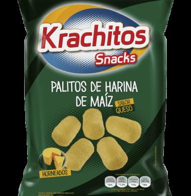 KRACHITOS palitos maiz c/queso x160g