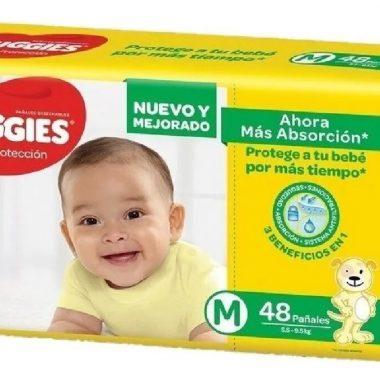 HUGGIES panal amarillo M x8u.