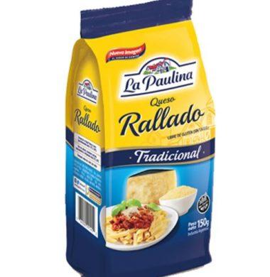 PAULINA queso rallado x150g