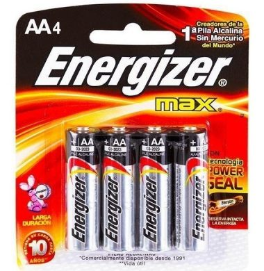 ENERGIZER pila chica AA x4(E91)