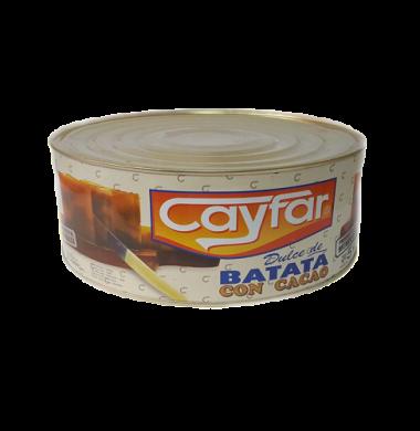 CAYFAR dulce batata con chocolate lata x5kg.