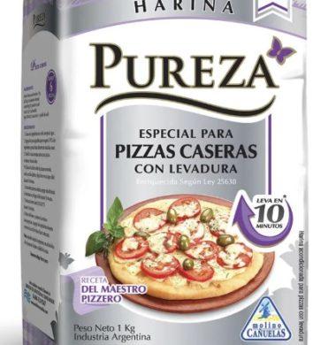 PUREZA harina con levadura especial pizza x1kg