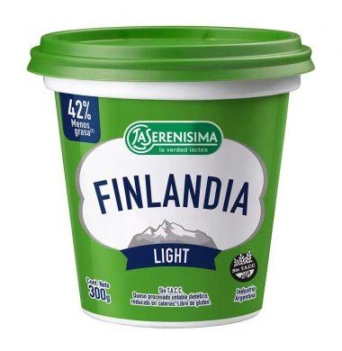 FINLANDIA queso untable light x290g