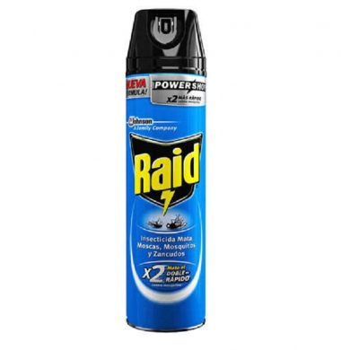 RAID insecticida  MMM azul x360cc