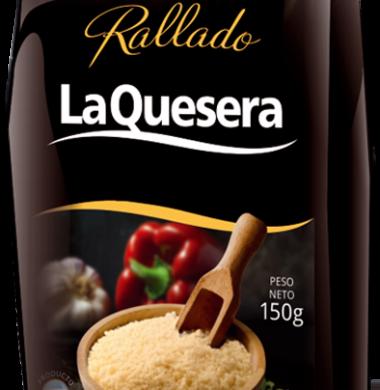 LA QUESERA queso rallado x150g