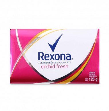REXONA  Jabon de tocador  orchid fresh x125g