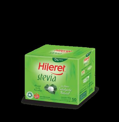 HILERET edulc. stevia x50Un.