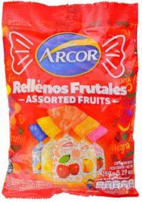 ARCOR caramelos saquitos frutales x810g