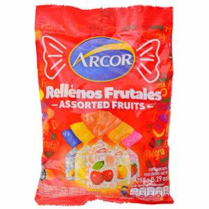 ARCOR caramelo saquitos frutales x810g