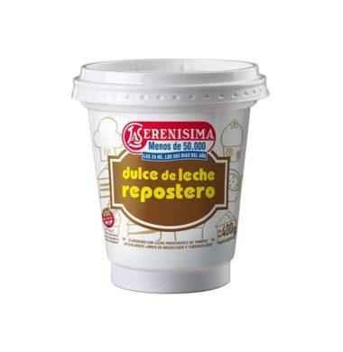 SERENISIMA dulce de leche repostero x400g.